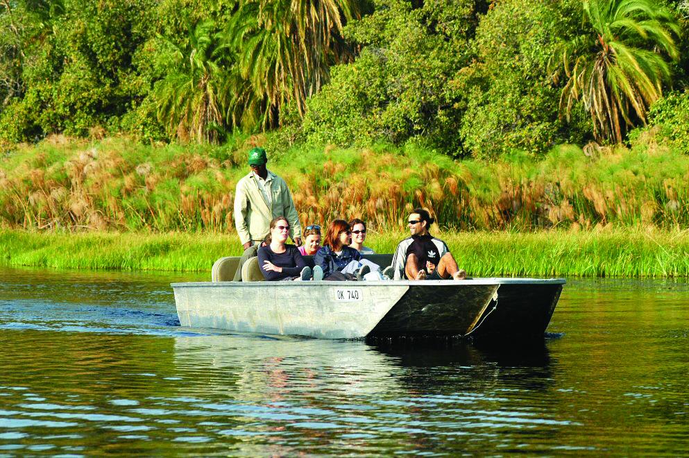 Okavango Overland tour