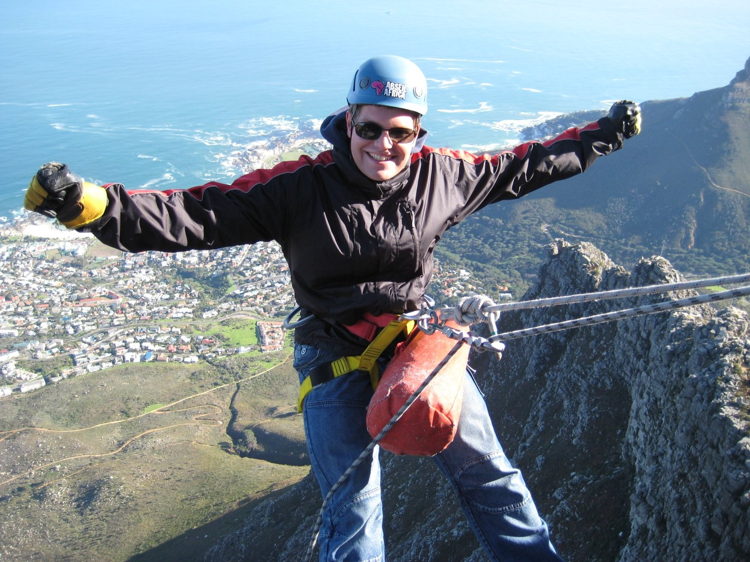 Abseil Table Mountain