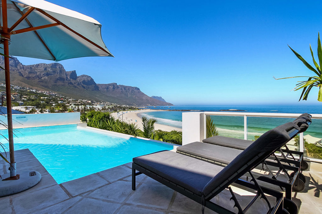 Cape Town accommodation beach